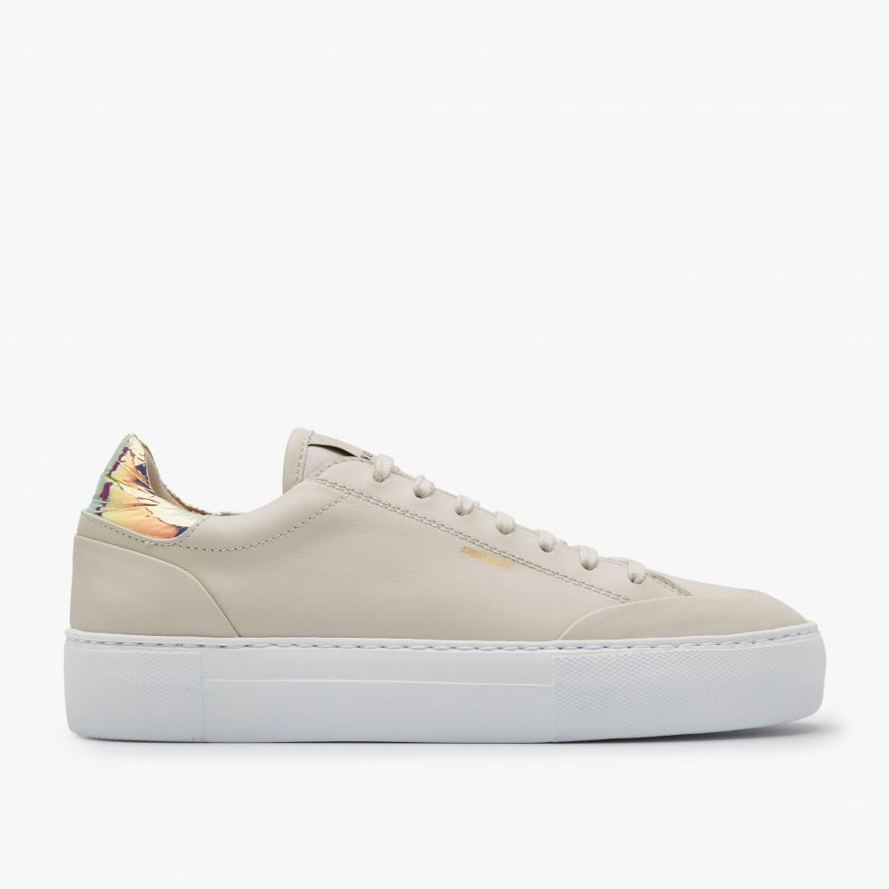 Beige Sneakers Jolie Naya Nubikk