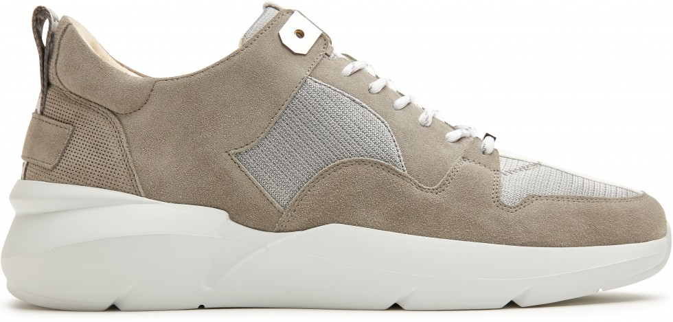 Grijze Sneaker Elven Thyme Nubikk