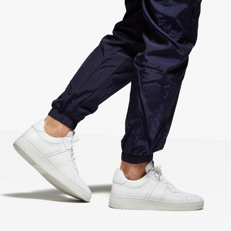 Witte Sneaker Yucca Cane M Nubikk