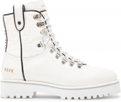Bowie Roma | Witte Biker Boots