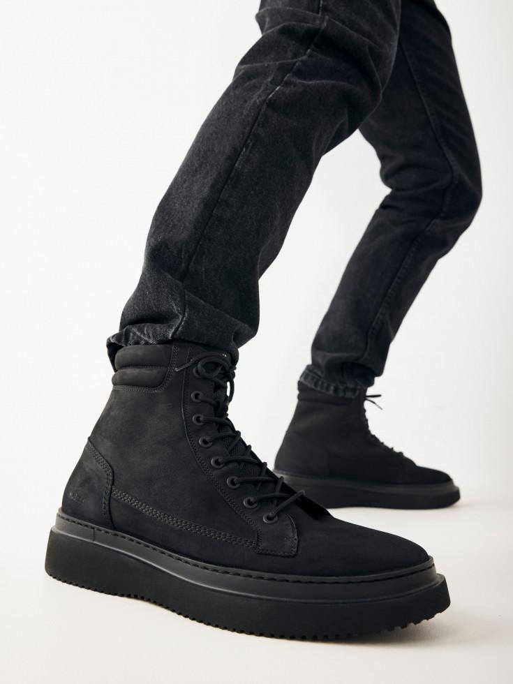 Nubikk Jonah Dune Black Raven Boots