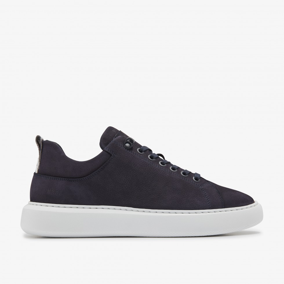 Navy Sneakers Scott Marlow Nubikk