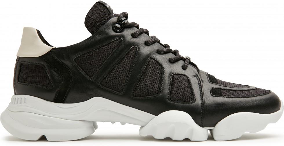 Zwarte Sneaker Mylan Razor Nubikk