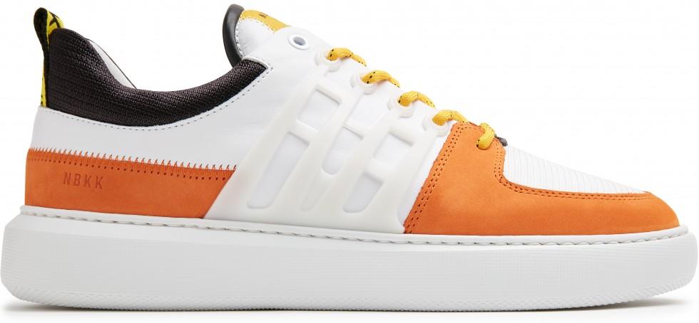 Oranje Sneakers Scott Benton Nubikk