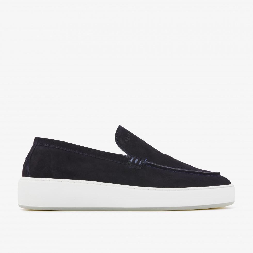 Nubikk Jiro Nave Dk Blue Loafers
