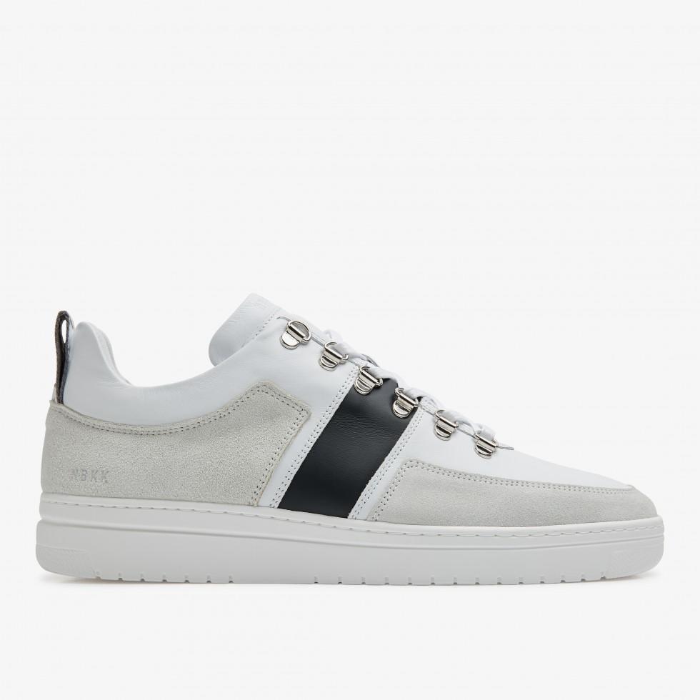 White Sneakers Yeye Block Ocean Nubikk