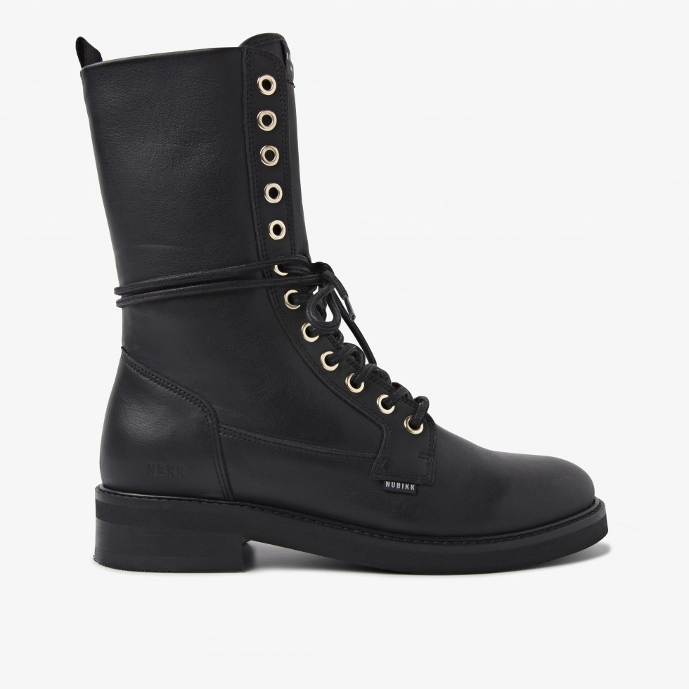 Nubikk Sarray Day Zwarte Boots