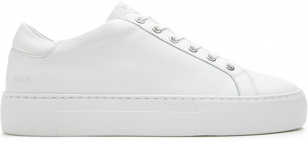 Witte Sneaker Jagger Pure Gomma Nubikk