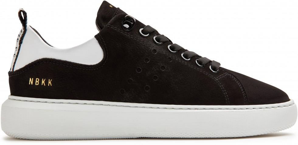 Schwarze Sneaker Rox Nubuck Nubikk