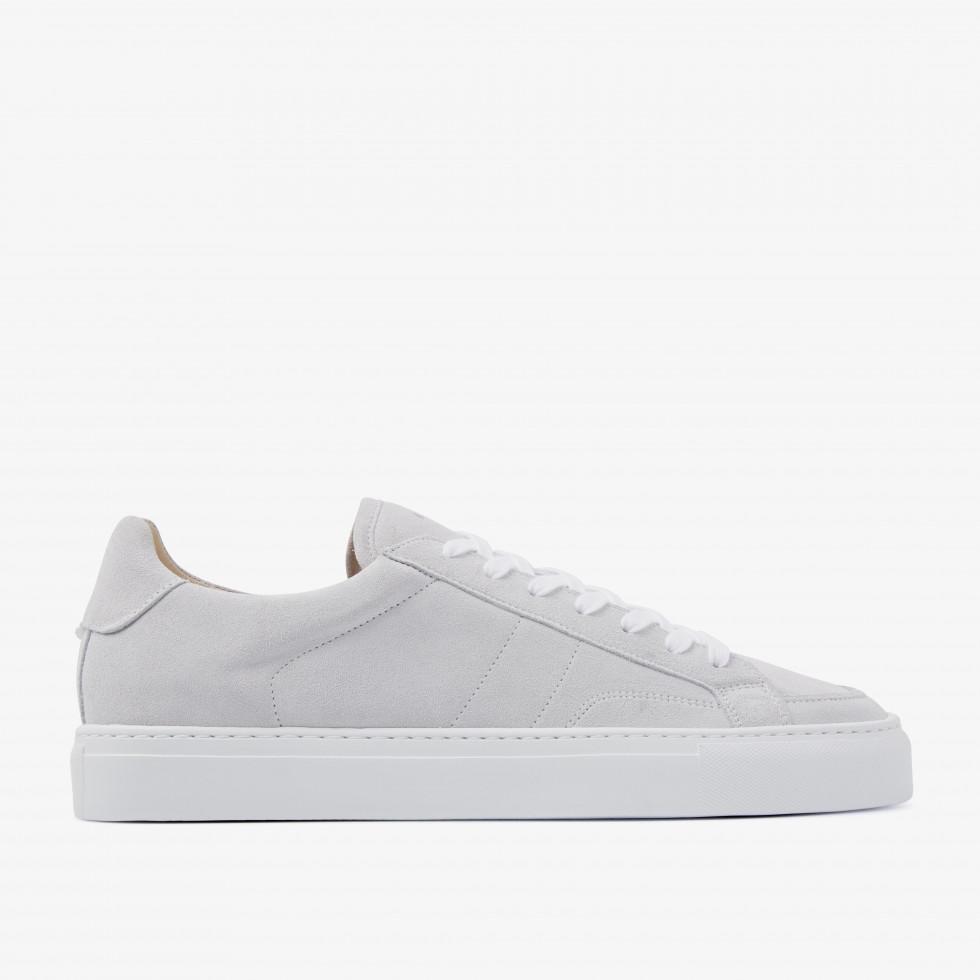 Nubikk Jase Issy Witte Suede Sneakers