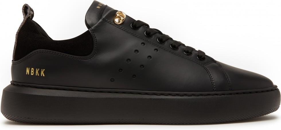 Scott Eiffel Black Leather Nubikk