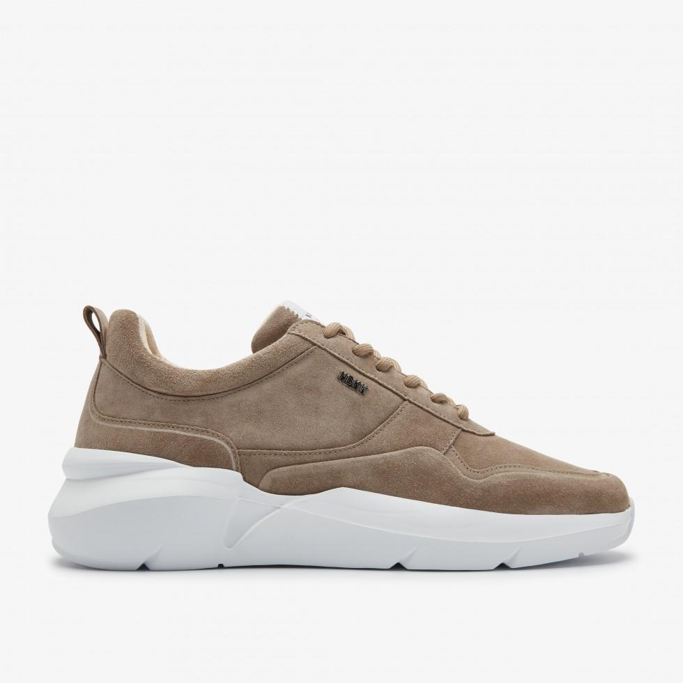 Nubikk Elven Nagare Taupe Sneakers