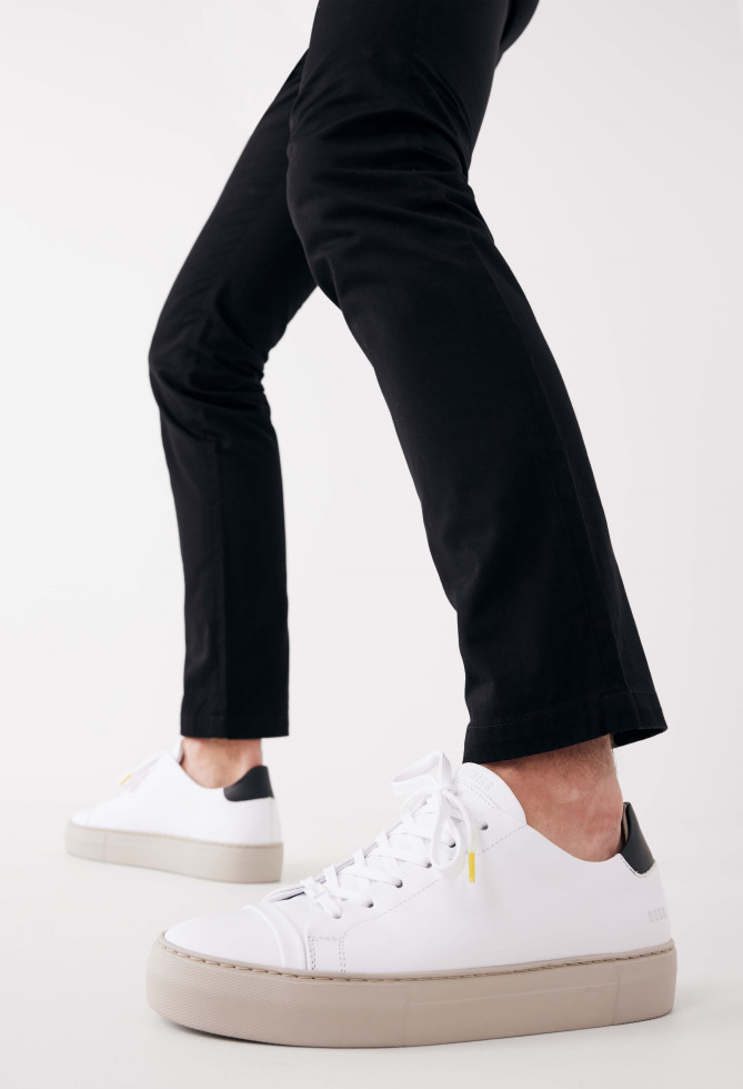 Nubikk Jagger Aspen Multi Sneakers blanches