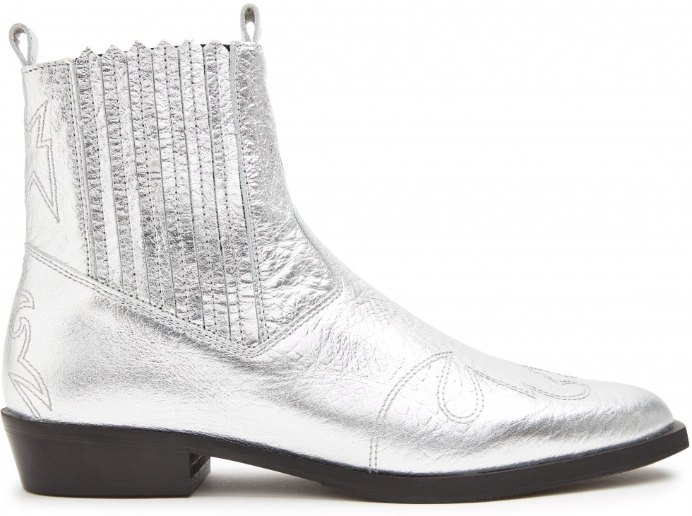 Silver Ankle Boots Jimmy Cura Nubikk