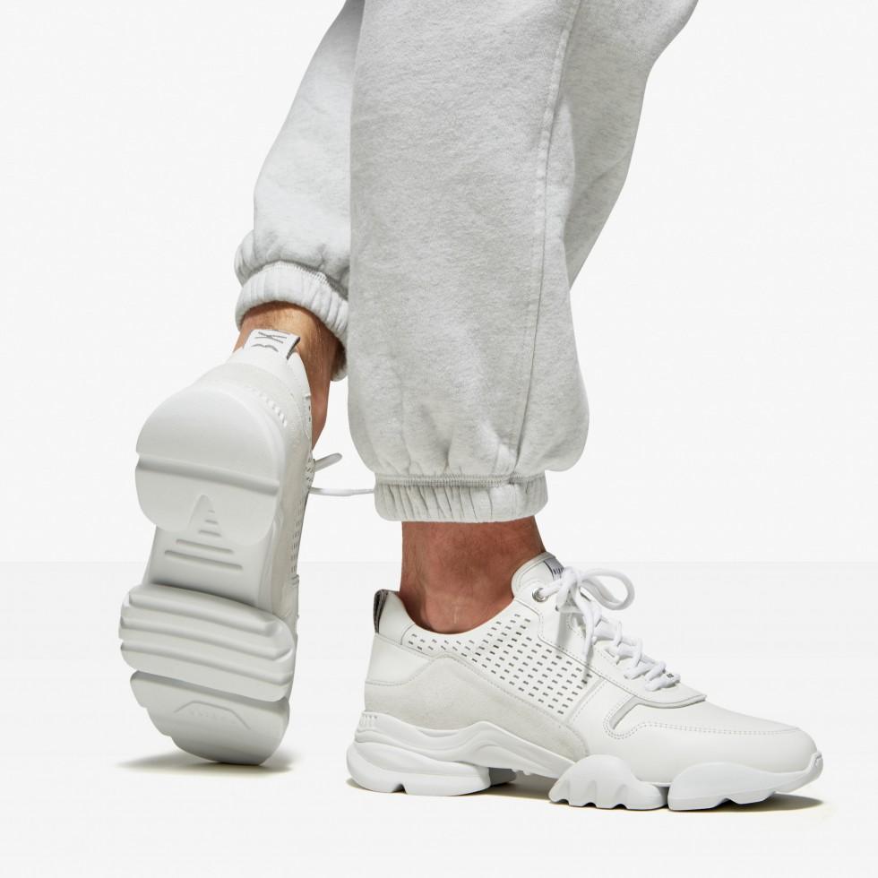 White Sneakers Mylan Maddock Nubikk