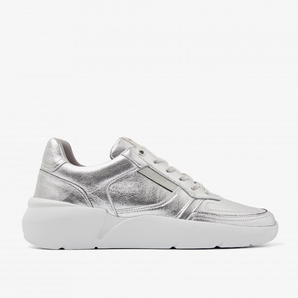 Nubikk Roque Road L Silver Sneakers