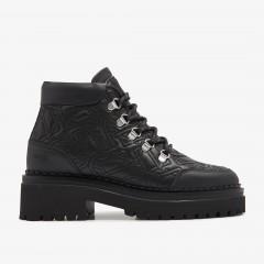 Fae Stella | Zwarte Biker Boots