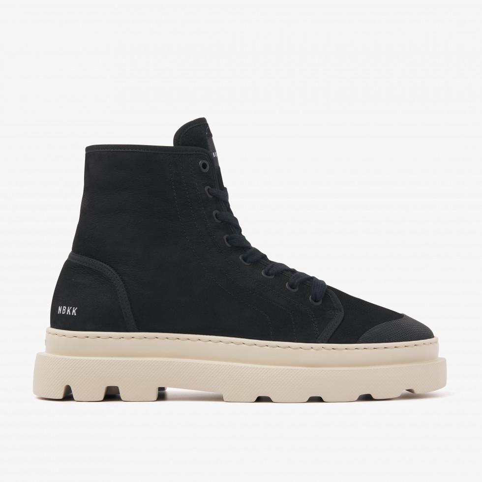 Nubikk Monro Cyrus M Black Dew sneaker boots