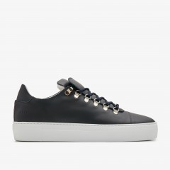 Jagger Calf | Navy Trainers