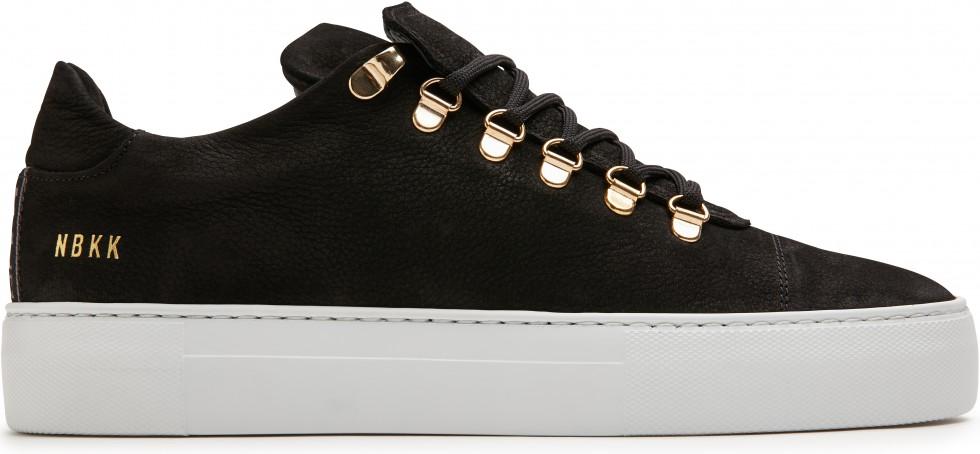 Zwarte Sneaker Jagger Classic II Nubikk