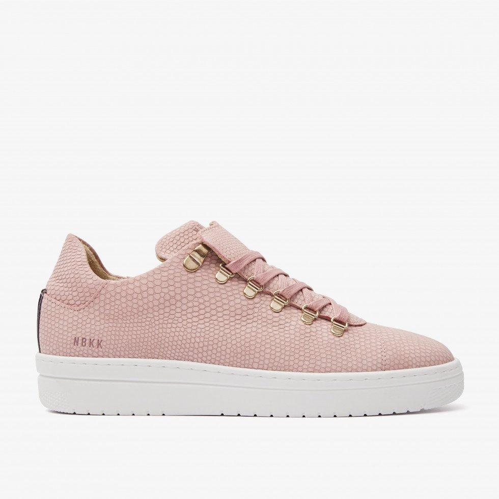 Nubikk YeYe Lizard Pink Lizard Sneakers