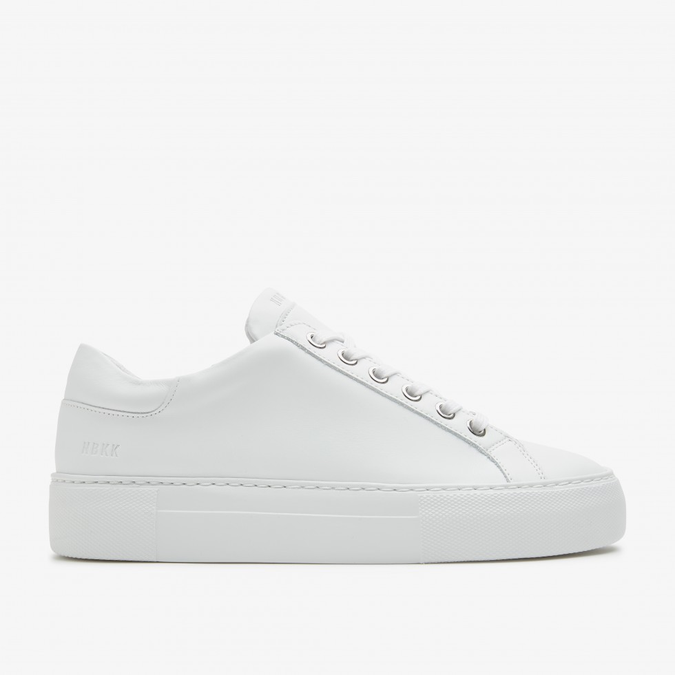 Nubikk Jolie Pure White Trainers