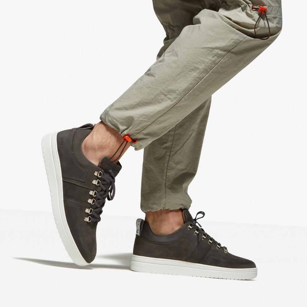 Grey Sneakers Yeye Maze M Nubikk