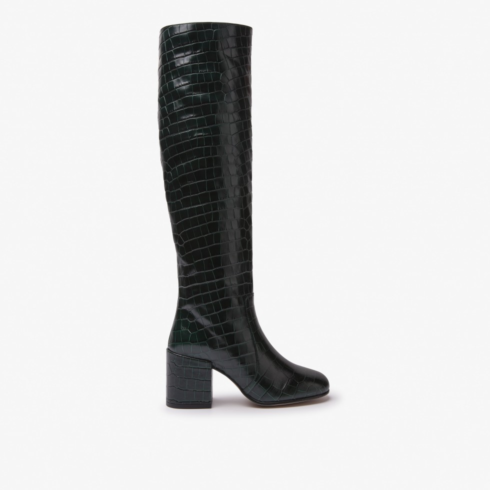 Gigi Melba | Dk Green Boots