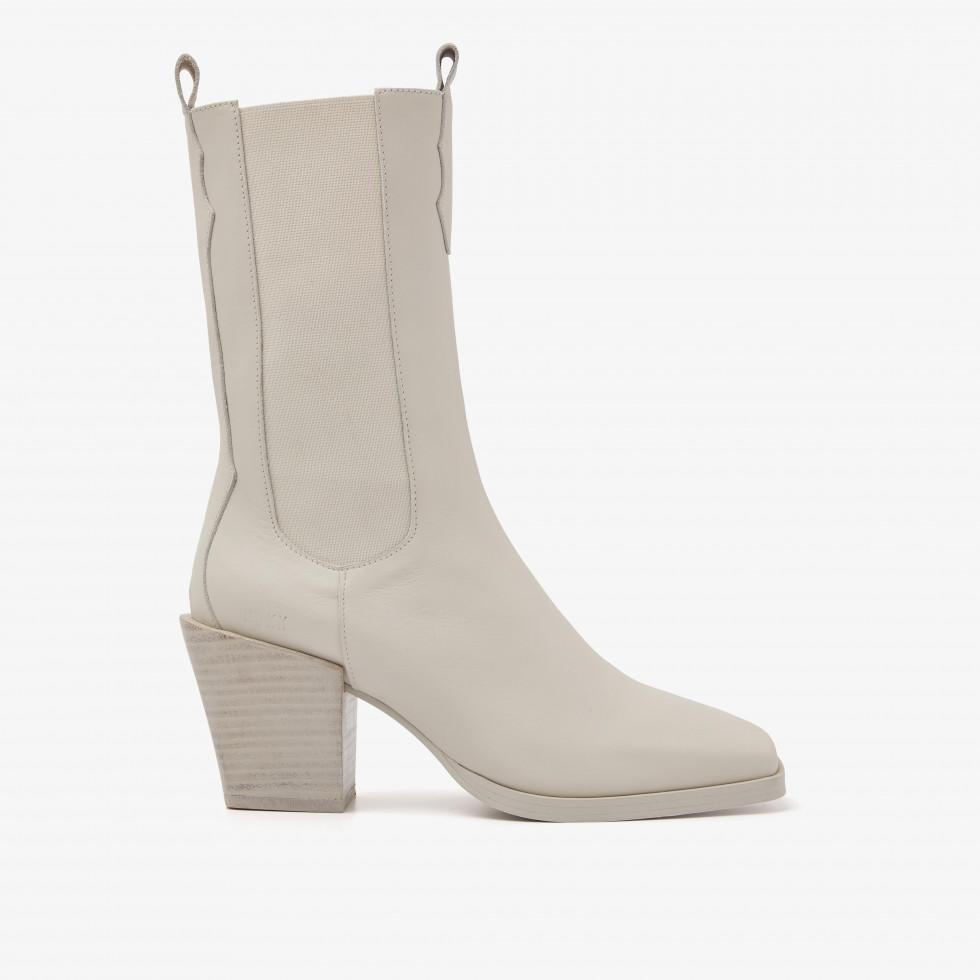Nubikk Ann Flynn Beige Boots