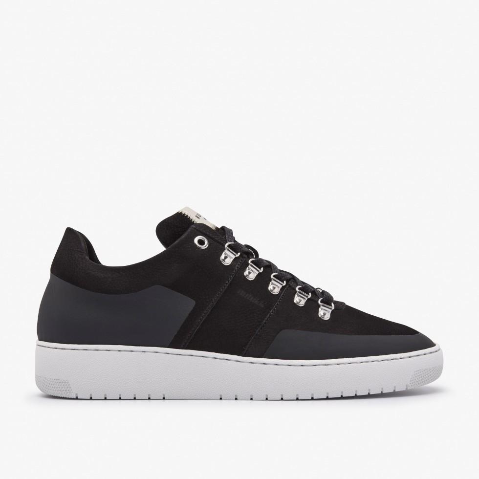 Zwarte Sneaker Yucca Cane Nubikk