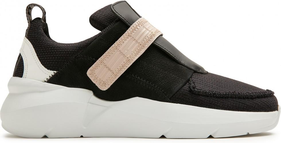 Zwarte Sneaker Lucy Royal Strap Nubikk