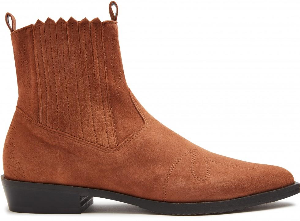 Cognac Ankle Boots Jimmy Cura Nubikk