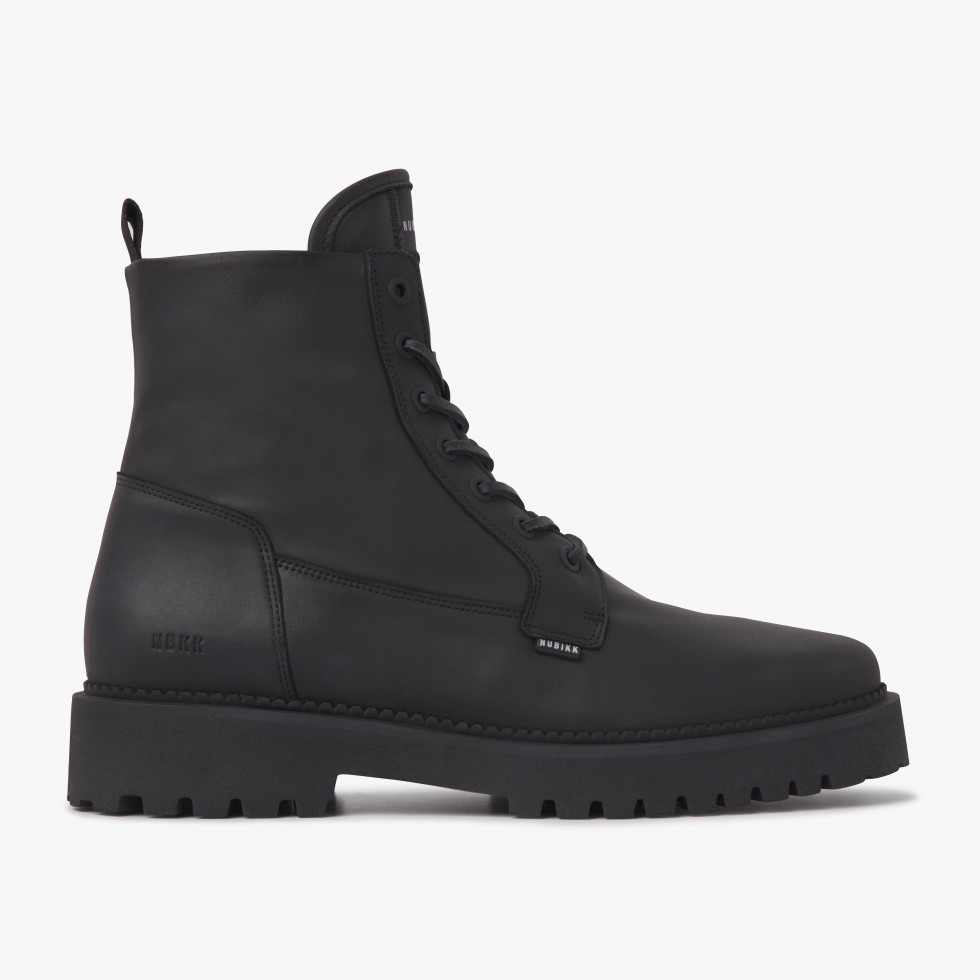 Logan Day | Black Leather Boots