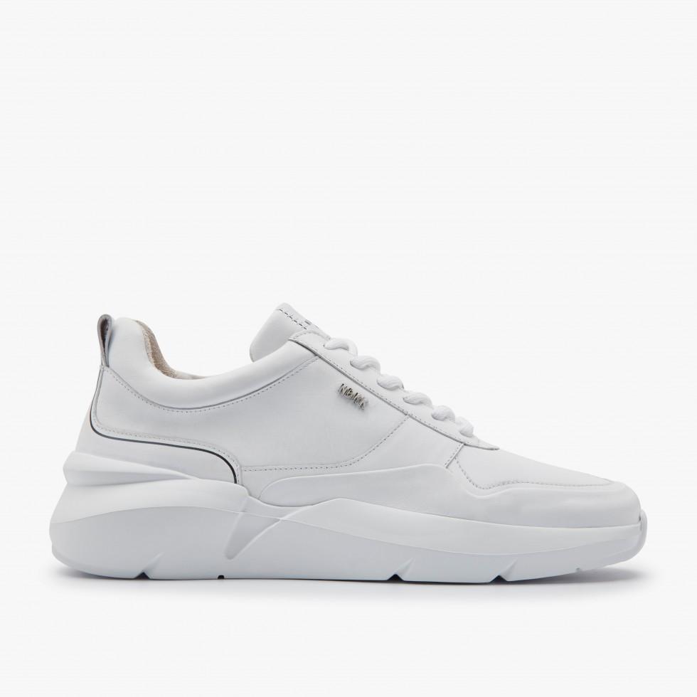 Nubikk Elven Nagare Witte Sneakers
