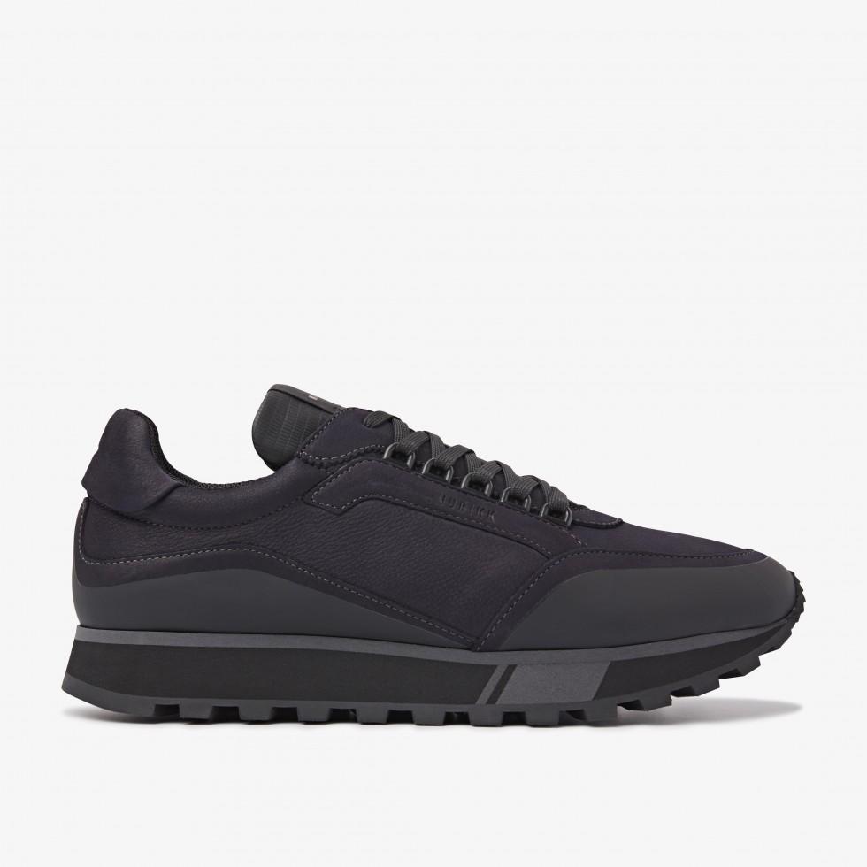 Blauwe Sneaker Delta D Nubikk