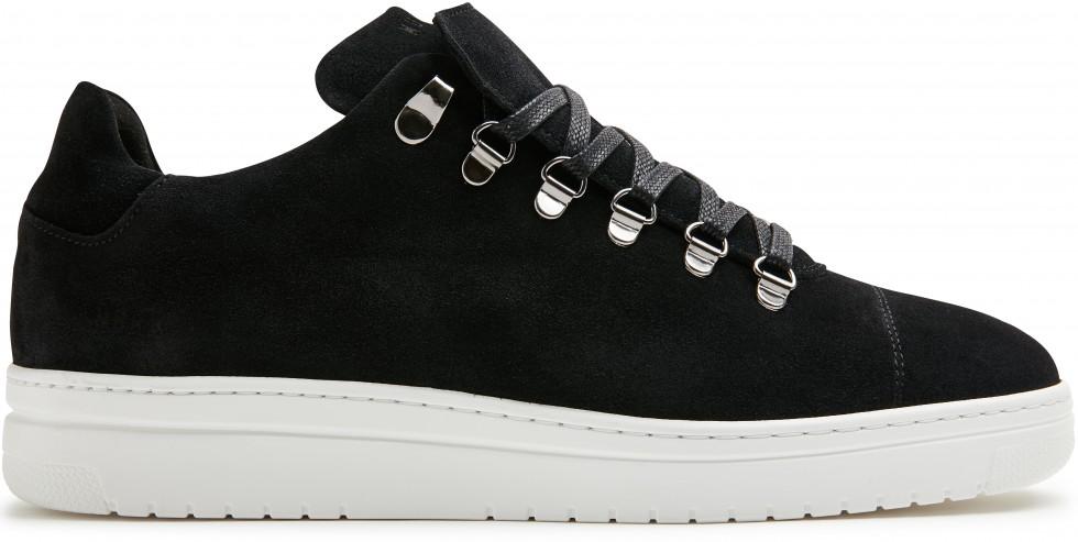 Zwarte Sneaker Yeye Suede Lt M Nubikk