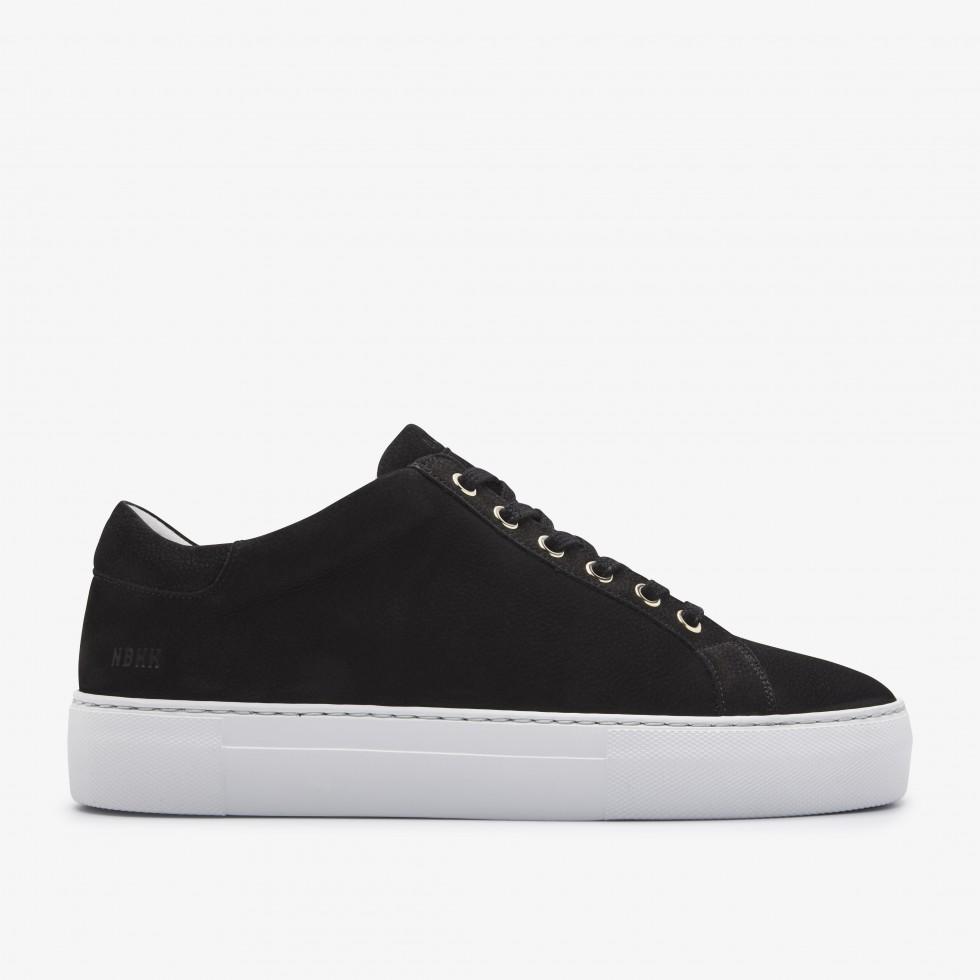 Black Sneakers Jagger Fresh Nubikk