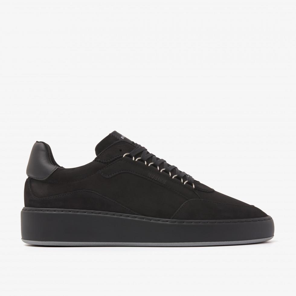 Nubikk Jiro Jade M Raven Zwarte Sneakers