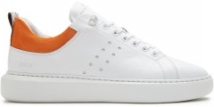Scott Multi Orange | Weiße Sneaker