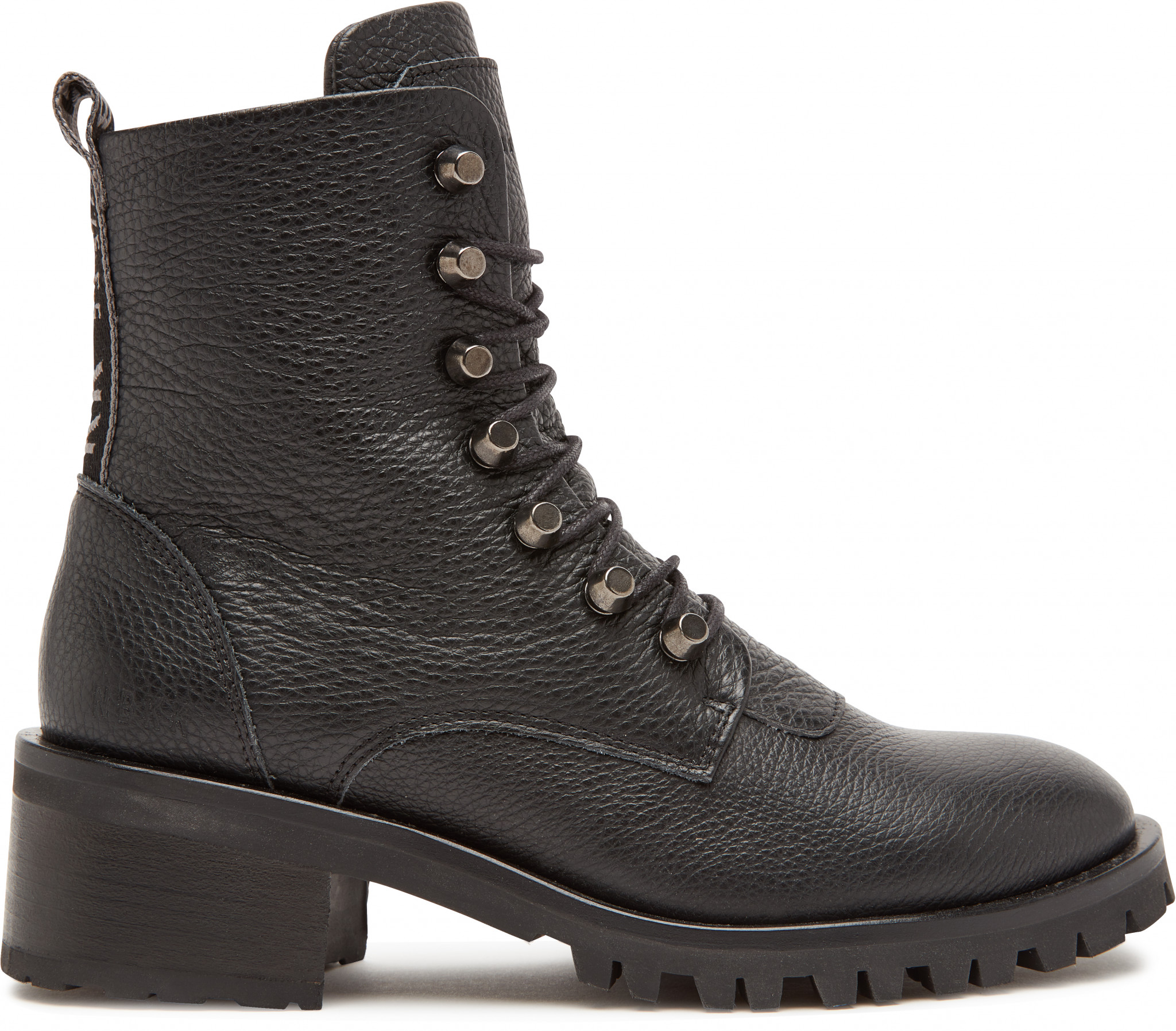 41d4bec8f0a3 Black Biker Boots Djuna Cone Nubikk