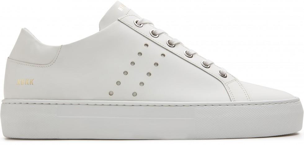 Witte Sneaker Jagger Pure Nubikk