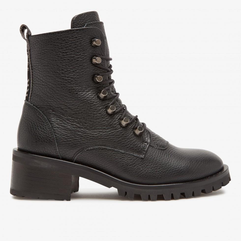 Black Biker Boots Djuna Cone Nubikk