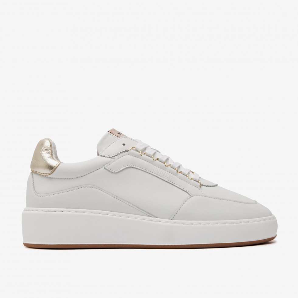 Nubikk Jiro Jade L Gold White Sneakers