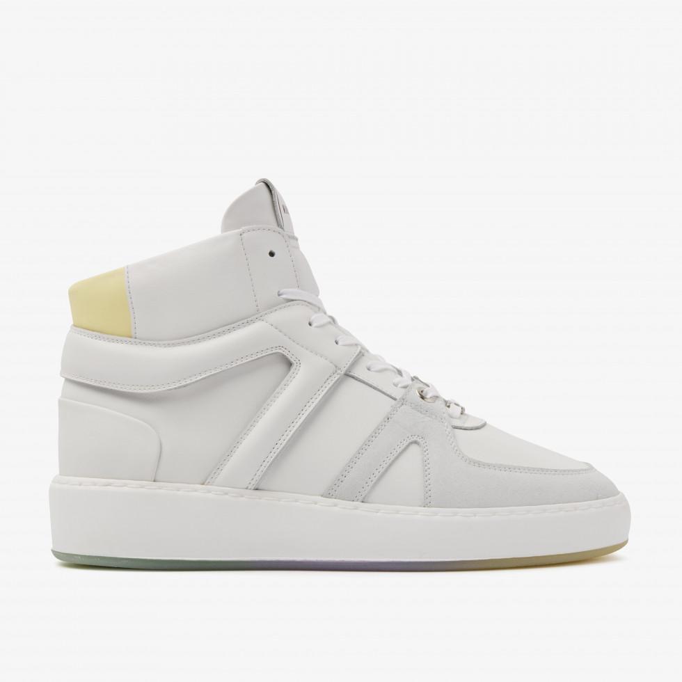 Nubikk Jiro Dunk Yellow White Sneakers