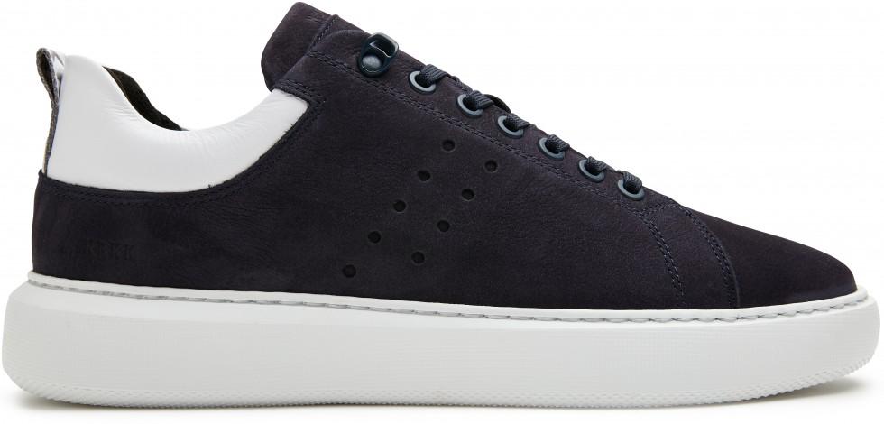 Blauwe Sneaker Scott Nubuck Nubikk