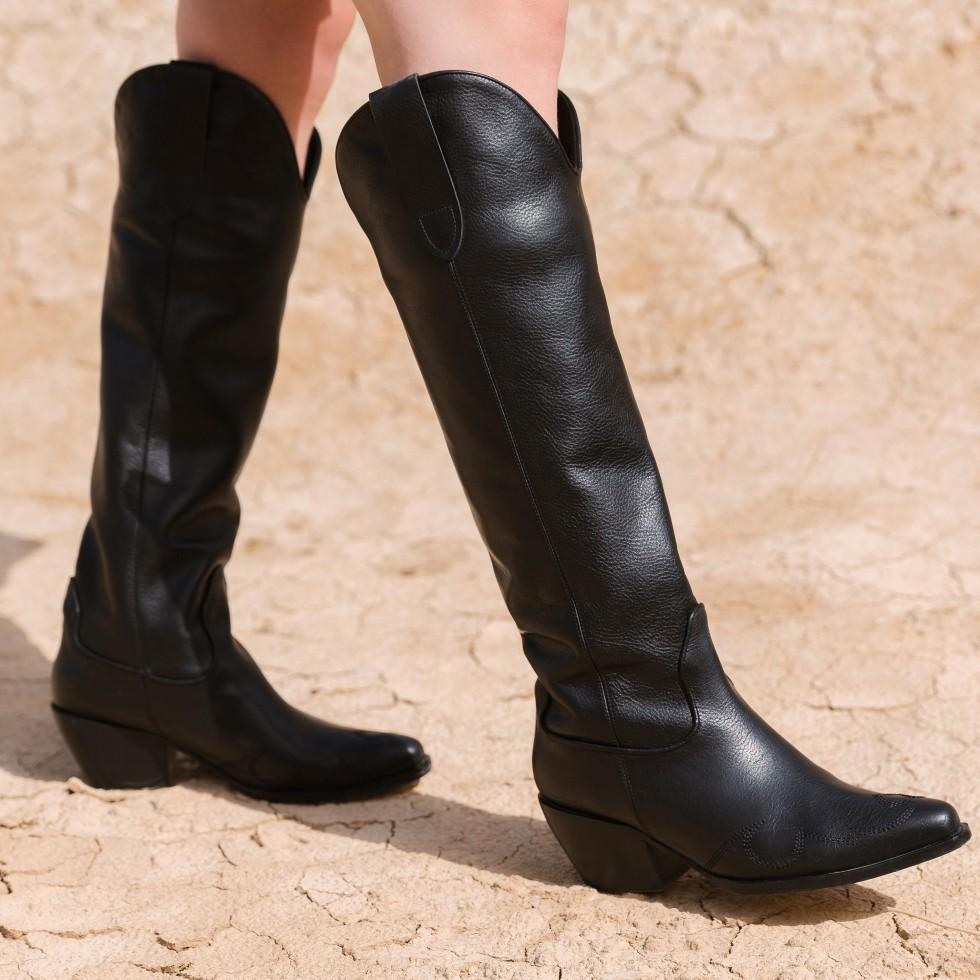 Nubikk Alex Gilly | Zwarte Boots
