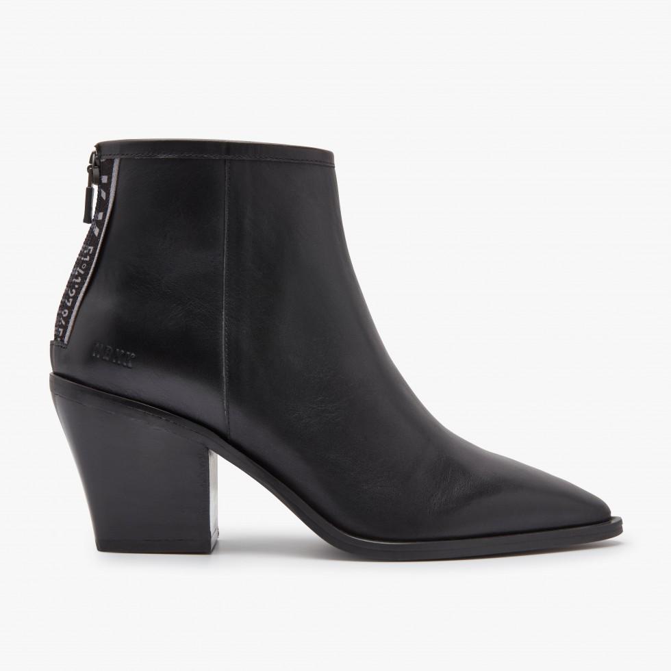 Black Ankle Boots Romee GPS Nubikk