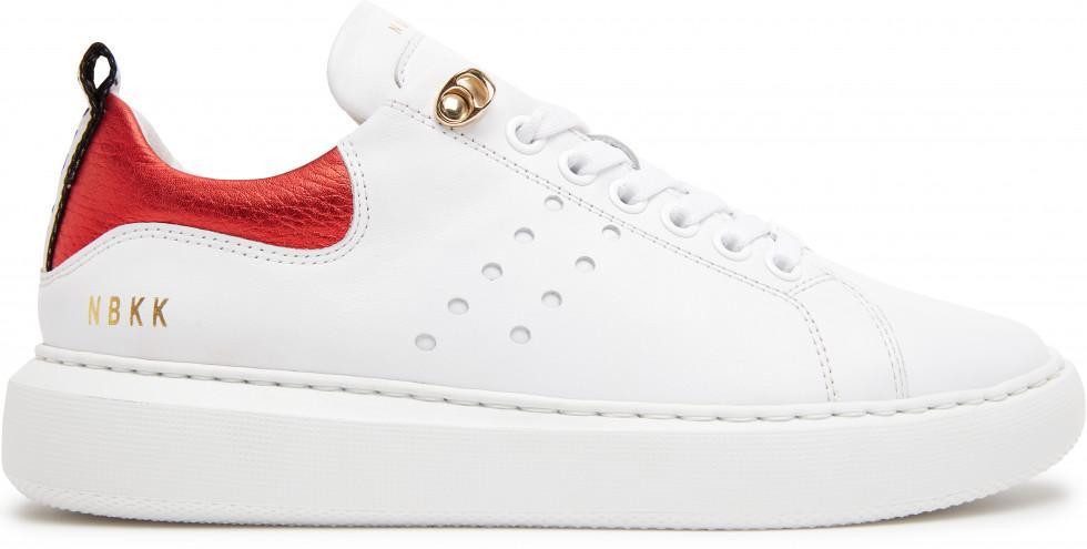 Witte Sneaker Rox Multi red Nubikk