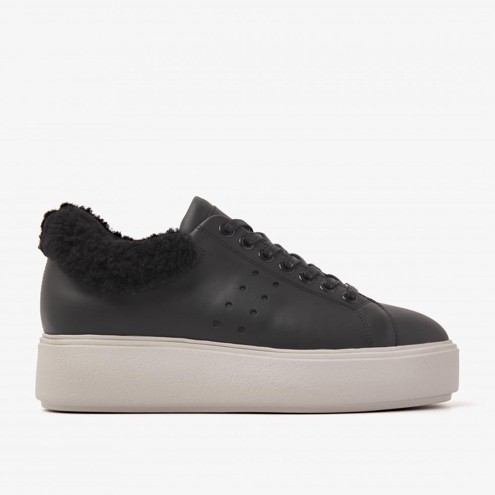Nubikk Elise Marlow Fur Multi Zwarte Sneakers