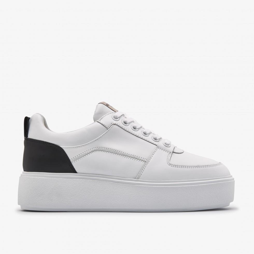 White Sneaker Elise Blush Nubikk